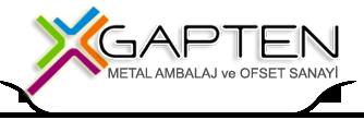 Gapten Metal Ambalaj Ve Ofset Sanayi Gaziantep